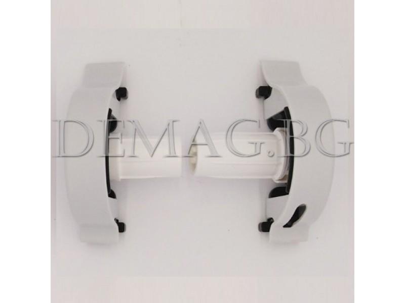 Управление за руло щори модел Елеганс цвят сив, дясно