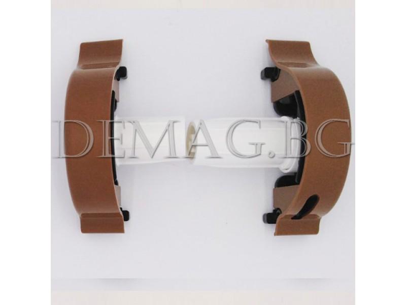 Управление за руло щори модел Елеганс цвят светлокафяв, дясно