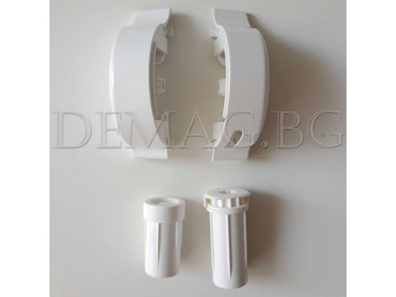 Дясно управление за руло щори модел Елеганс цвят бял