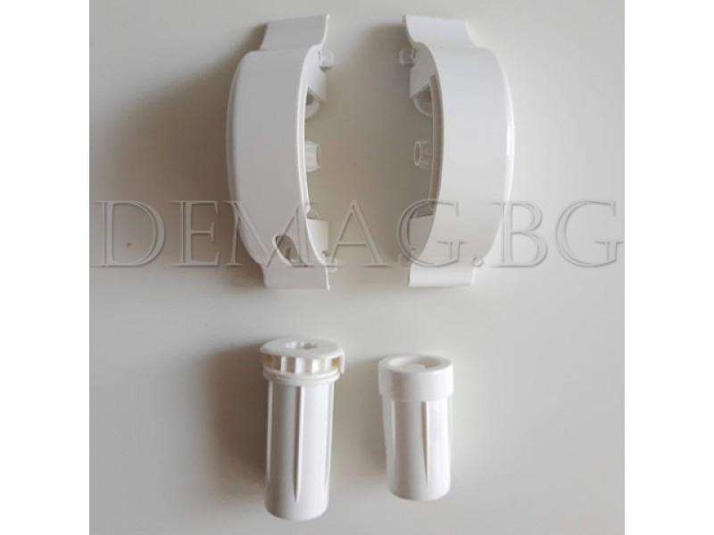 Ляво управление за щори руло модел Елеганс  цвят бял