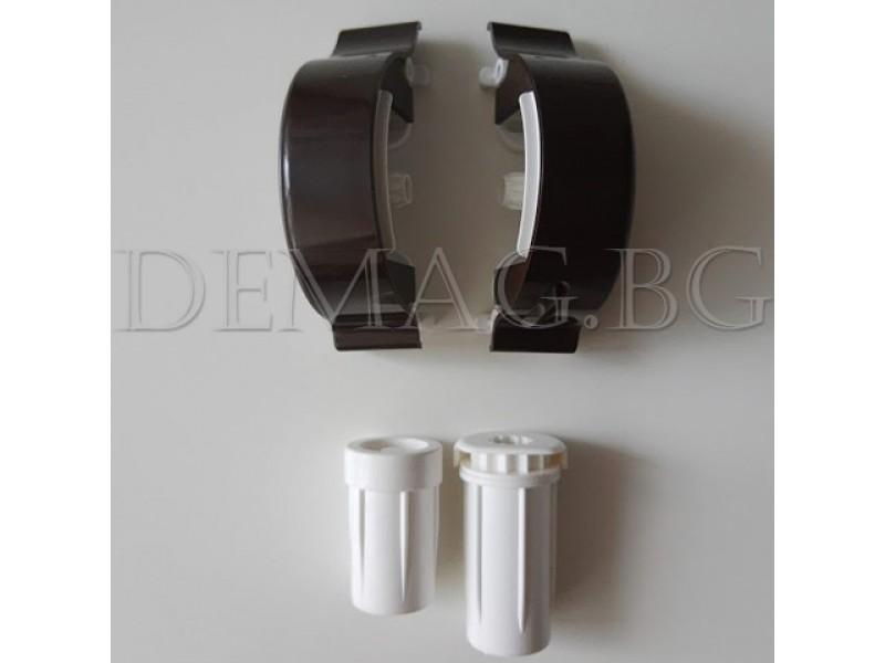 Дясно управление за руло щори модел Елеганс цвят кафяв