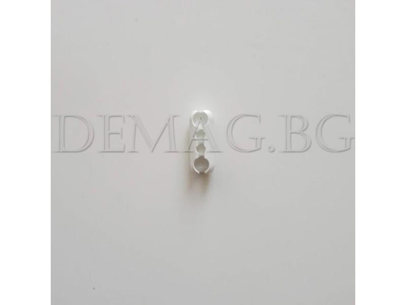 Разкопчаваща се свръзка за синджир - бяла